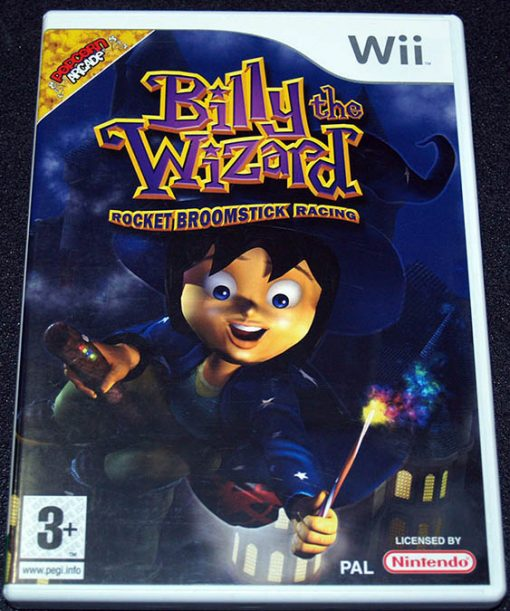 Billy The Wizard: Rocket Broomstick Racing WII