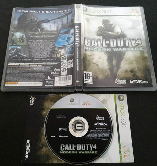 Call of Duty 4: Modern Warfare X360