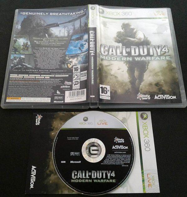 Call of Duty 4: Modern Warfare X360