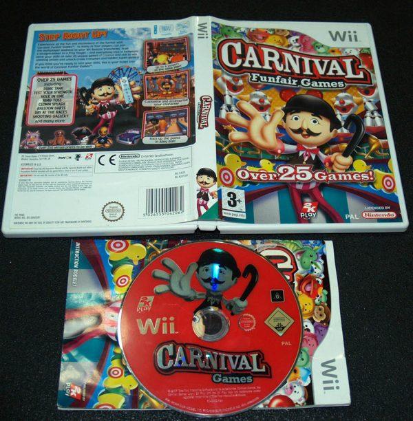 Carnival Funfair Games WII