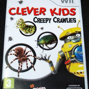 Clever Kids: Creepy Crawlies WII