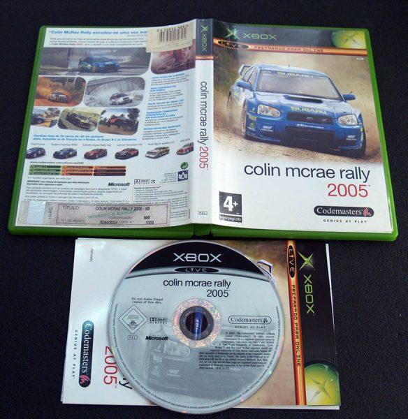 Colin McRae Rally 2005 XBOX
