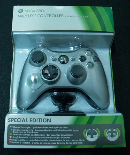 Comando Xbox 360 Special Edition + Play n' Charge Kit