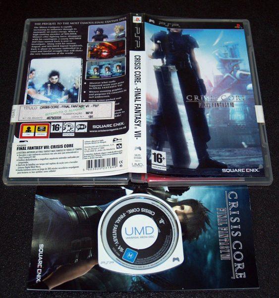 Crisis Core: Final Fantasy VII PSP