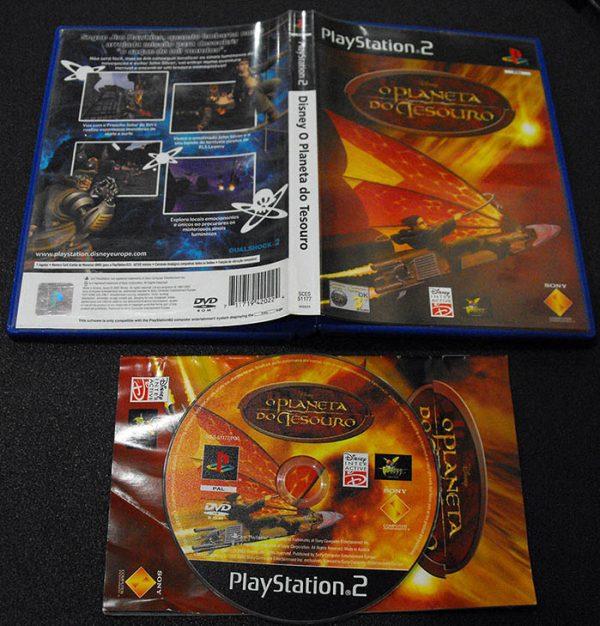 Disney O Planeta do Tesouro PS2