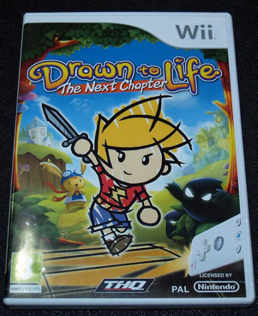 Drawn to Life: The Next Chapter WII