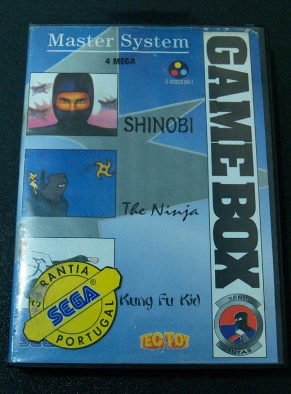 Game Box: Série Lutas MASTER SYSTEM