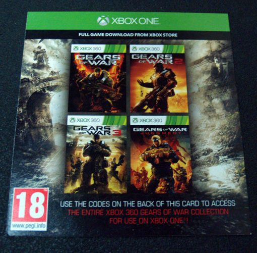 Gears of War Collection - Voucher XONE