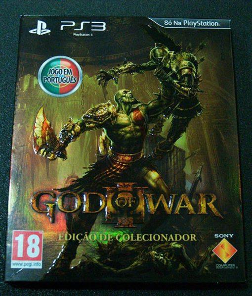 God of War III - Edição de Coleccionador PS3