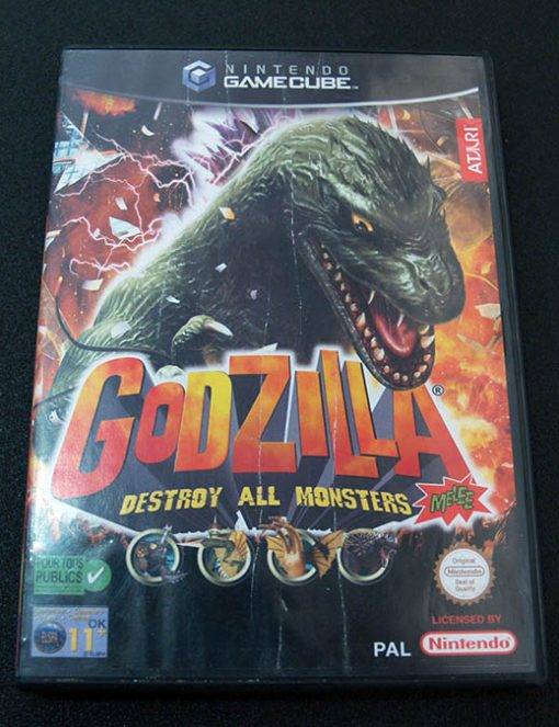 Godzilla: Destroy All Monsters Melee GameCube
