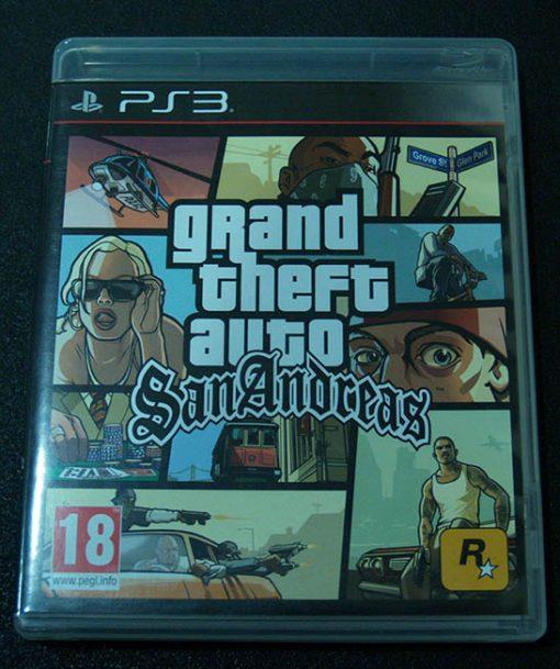 Grand Theft Auto: San Andreas PS3
