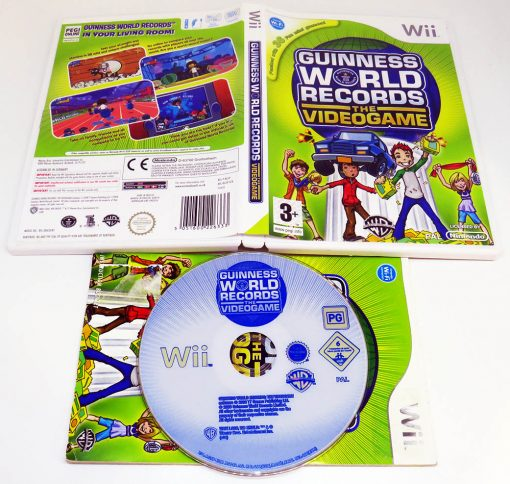 Guiness World Records: The Videogame WII