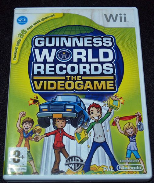 Guiness World Records WII