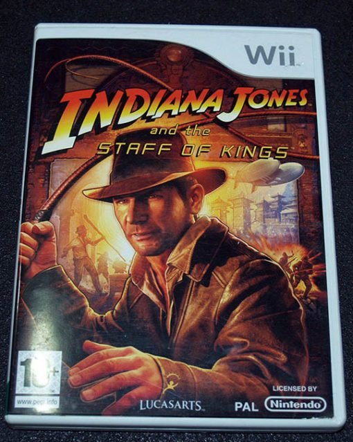 Indiana Jones and the Staff of Kings WII