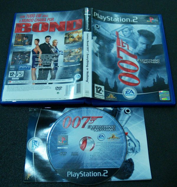 James Bond 007: Everything or Nothing PS2