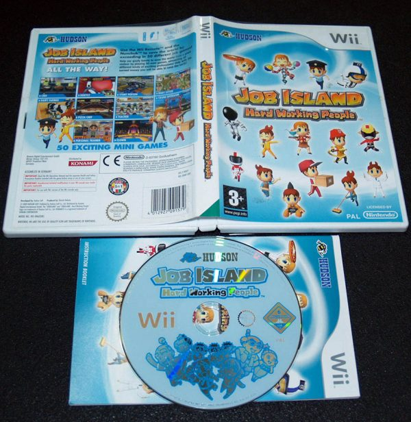 Job Island: Hard Working People WII