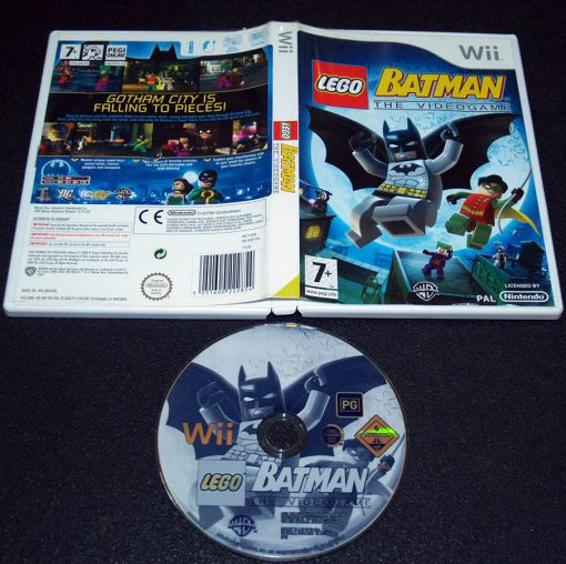 Lego Batman: The Videogame WII