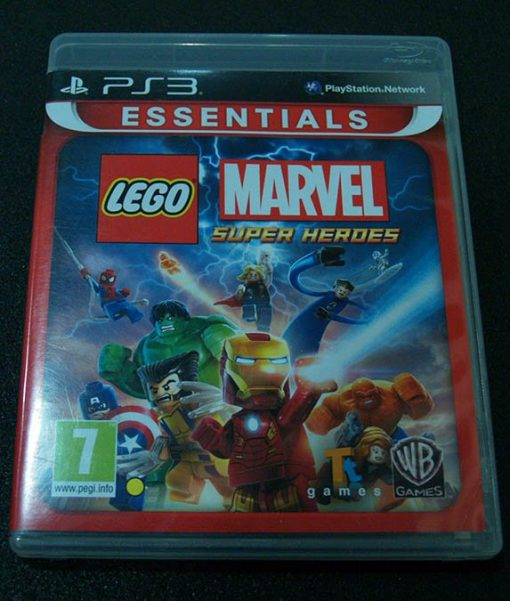 Lego Marvel Super-Heroes PS3