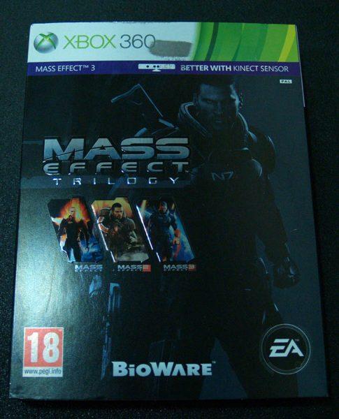 Mass Effect Trilogy X360