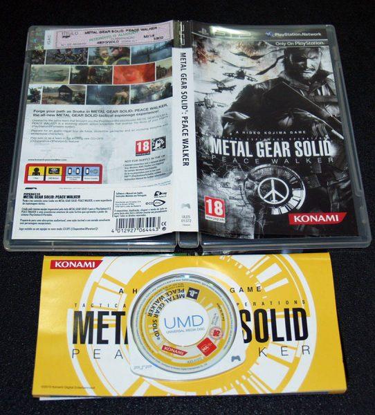 Metal Gear Solid: Peace Walker PSP