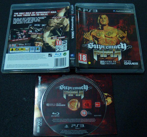 MMA Supremacy PS3
