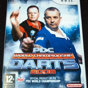 PDC World Championship Darts 2008 WII