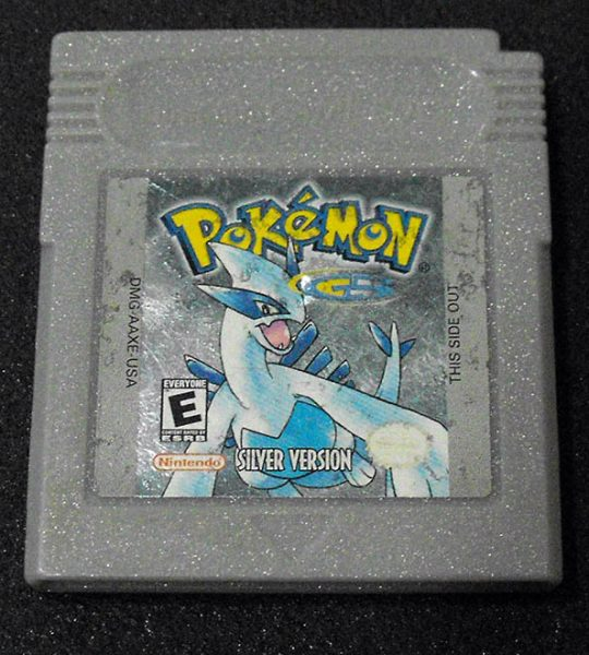 Pokémon Silver Version GAME BOY