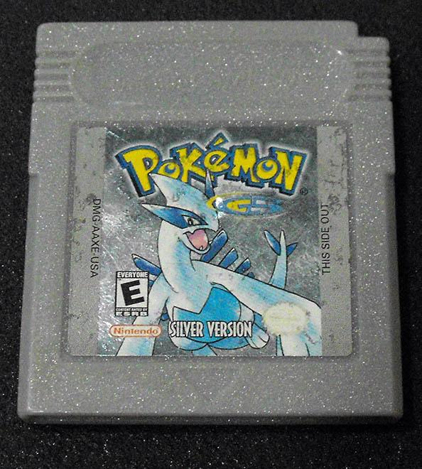 Pokémon Silver Version GAME BOY