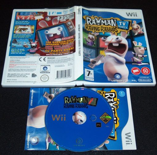 Rayman Raving Rabbids: TV Party WII