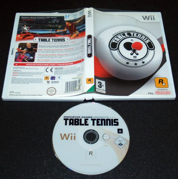 Rockstar Table Tennis WII