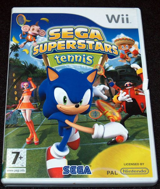 Sega Superstar Tennis WII