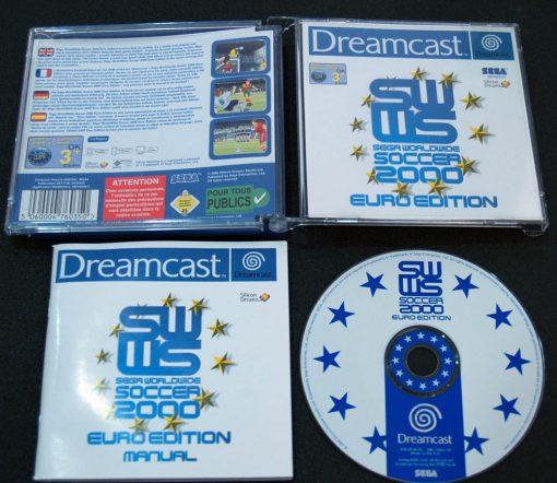 Sega Worldwide Soccer 2000 Euro Edition DREAMCAST