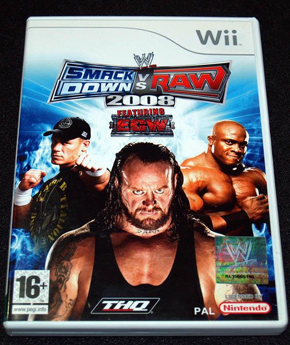 Smackdown vs Raw 2008 WII