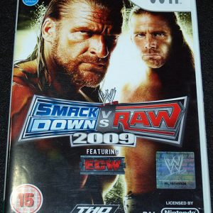 Smackdown vs Raw 2009 WII
