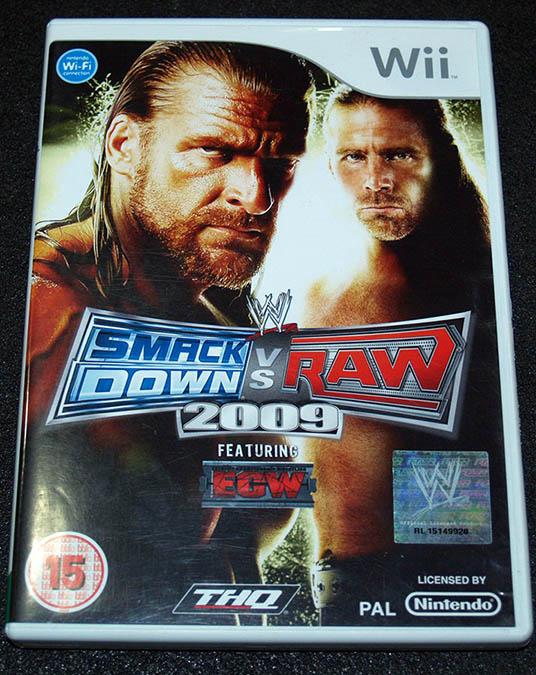 Smackdown vs Raw 2009 WII