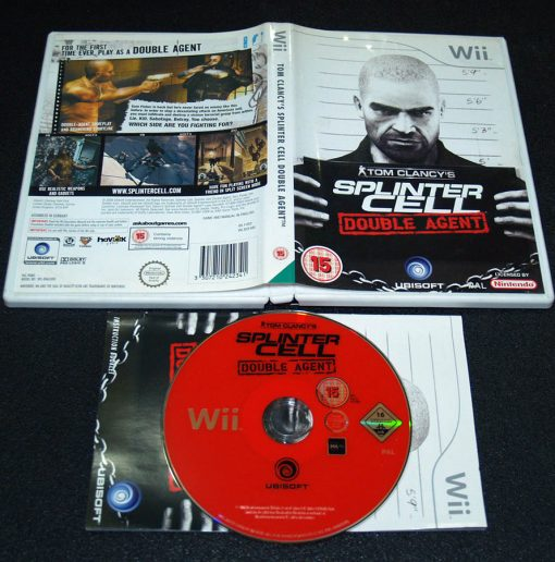 Splinter Cell: Double Agent WII