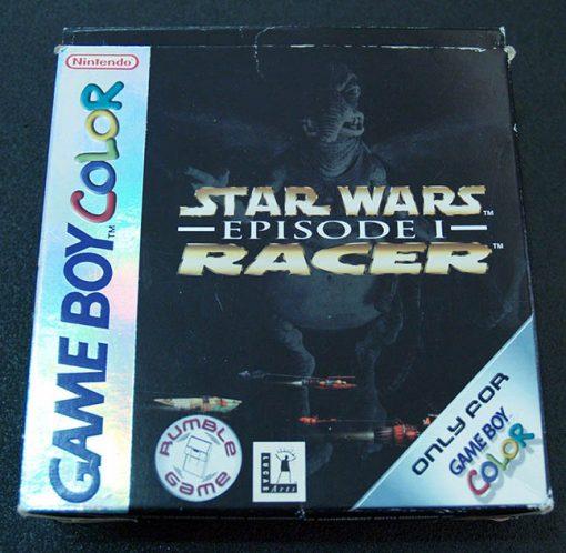 Star Wars Episode One Racer GAME BOY COLOR