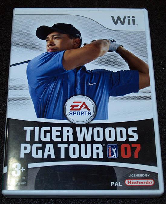 Tiger Woods PGA Tour 07 WII