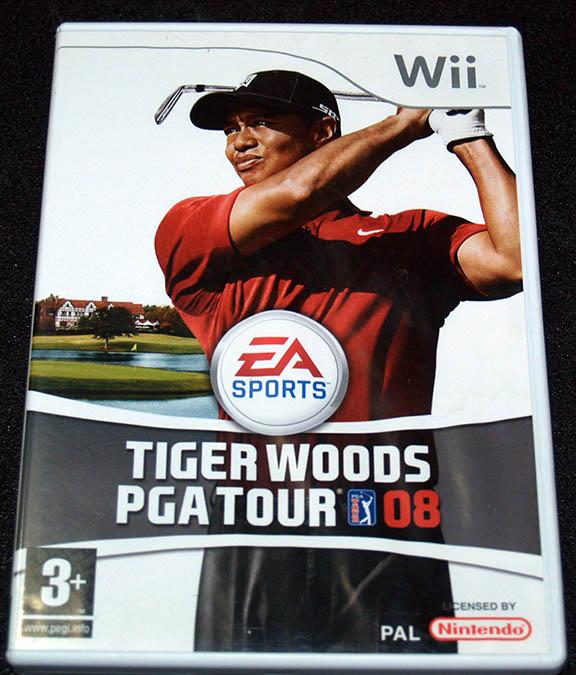 Tiger Woods PGA Tour 08 WII
