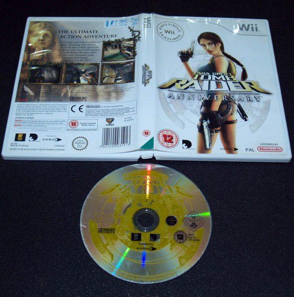 Tomb Raider Anniversary WII