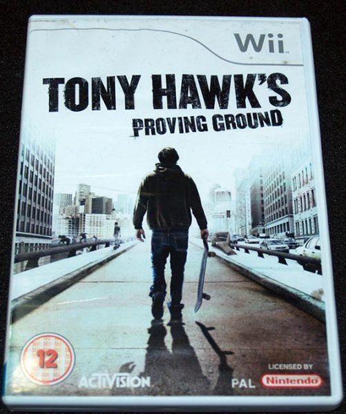 Tony Hawk's Proving Ground WII