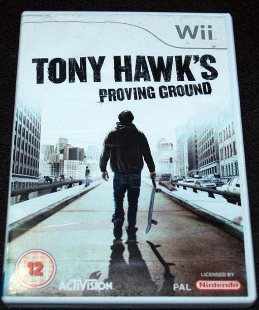 Tony Hawk's Proving Ground WII