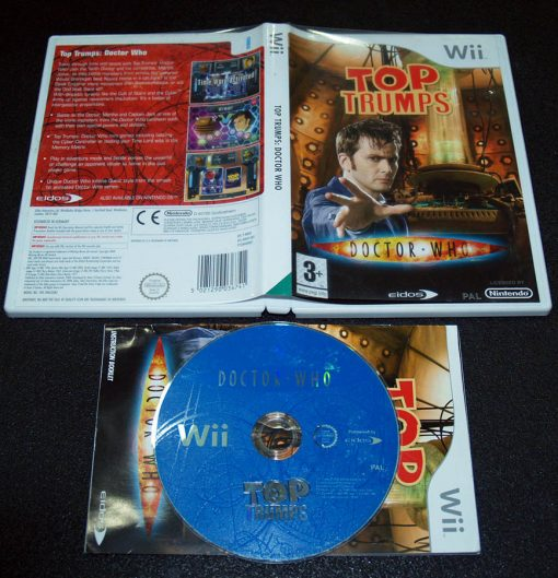Top Trumps: Doctor Who WII