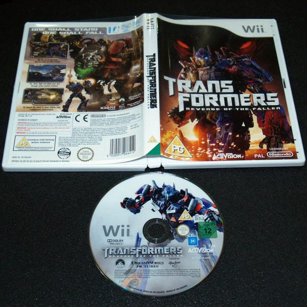 Transformers: Revenge of the Fallen WII