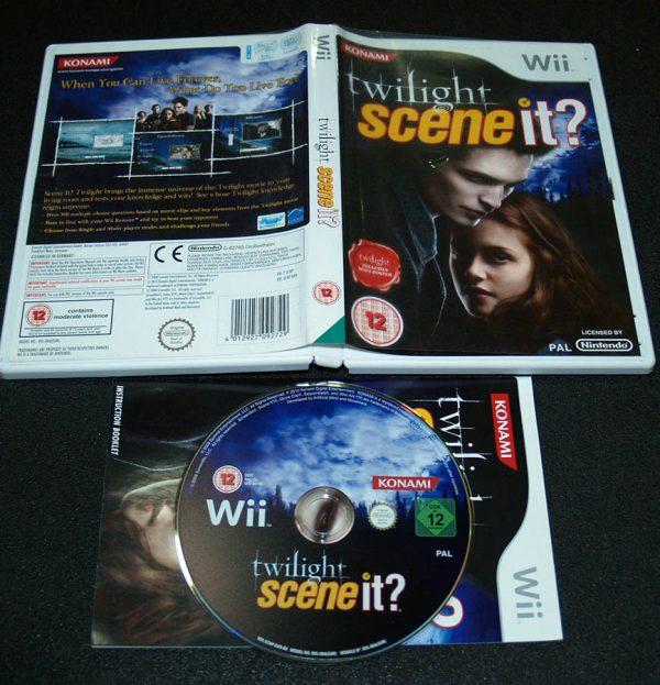 Twilight: Scene It? WII