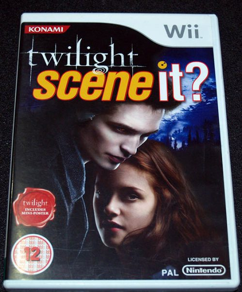 Twilight: Scene It? WII