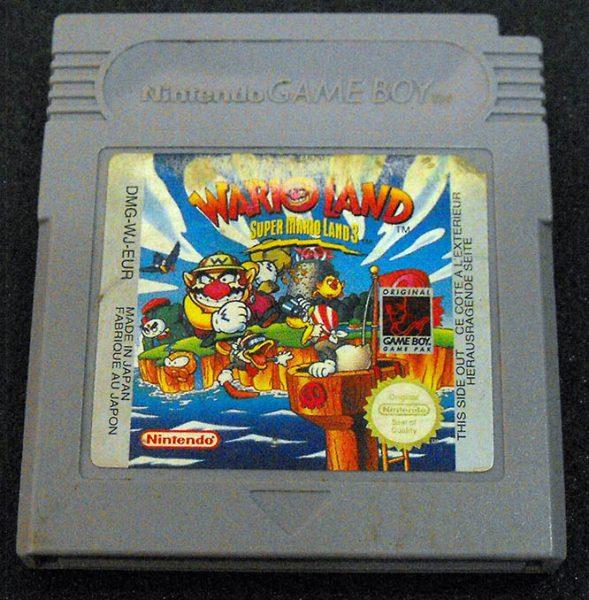 Wario Land: Super Mario Land 3 GAME BOY