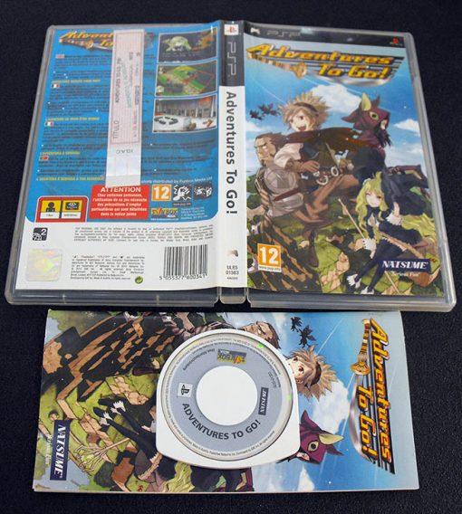 Adventures to Go PSP