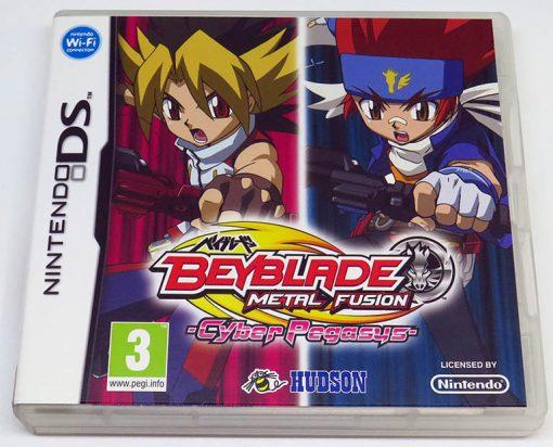 Beyblade Metal Fusion: Cyber Pegasus NDS