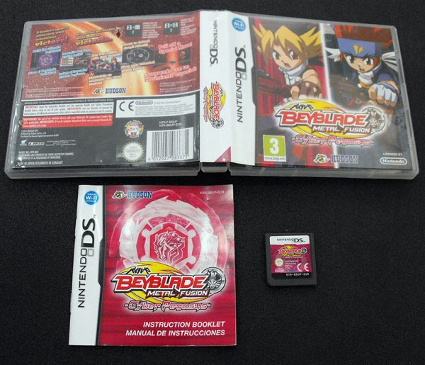 Beyblade Metal Fusion: Cyber Pegasus NDS